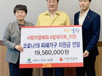 경기사회복지공동모금회 코로나19 피해가구 지원금 전달