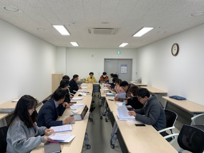 2020년 제1차 시행계획 평가 TF팀 회의
